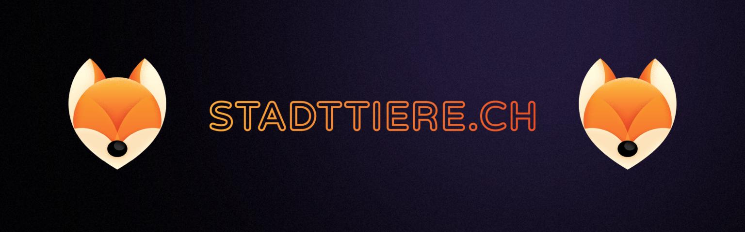 Banner Logo Fox Stadttiere.ch