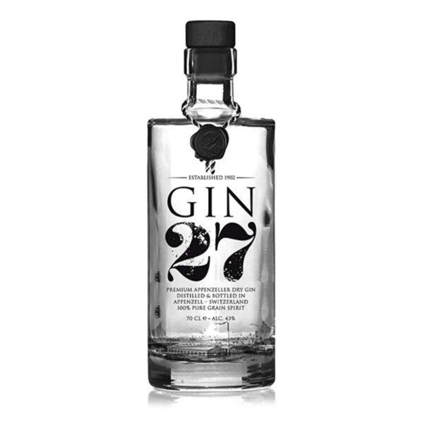 Gin 27 Appenzell Dry Gin aus der chweiz
