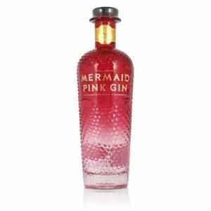Mermaid Pink Gin von der Isle of Wight in England